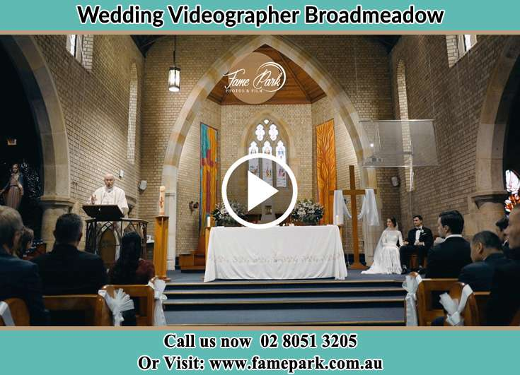The wedding ceremony Broadmeadow NSW 2292