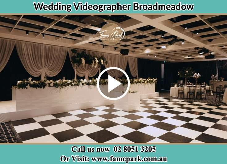 The reception venue Broadmeadow NSW 2292