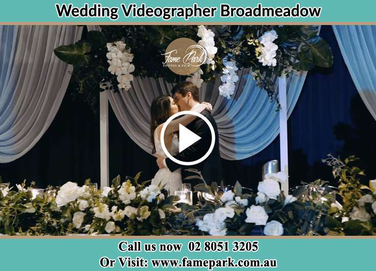 The newlyweds kissing Broadmeadow NSW 2292