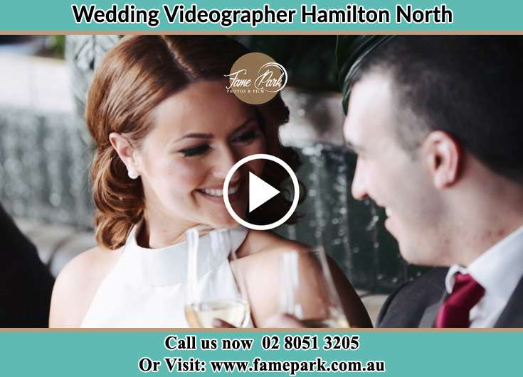 The Groom and the Bride close to each other Hamilton North NSW 2292