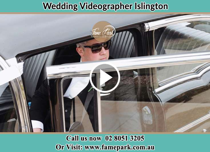 the Groom going out the car Islington NSW 2296