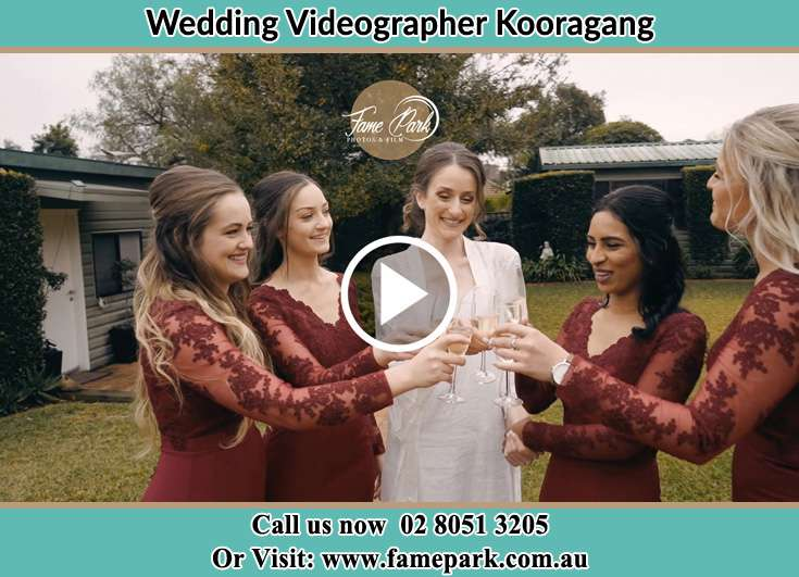 Bride and her secondary sponsors Kooragang NSW 2304