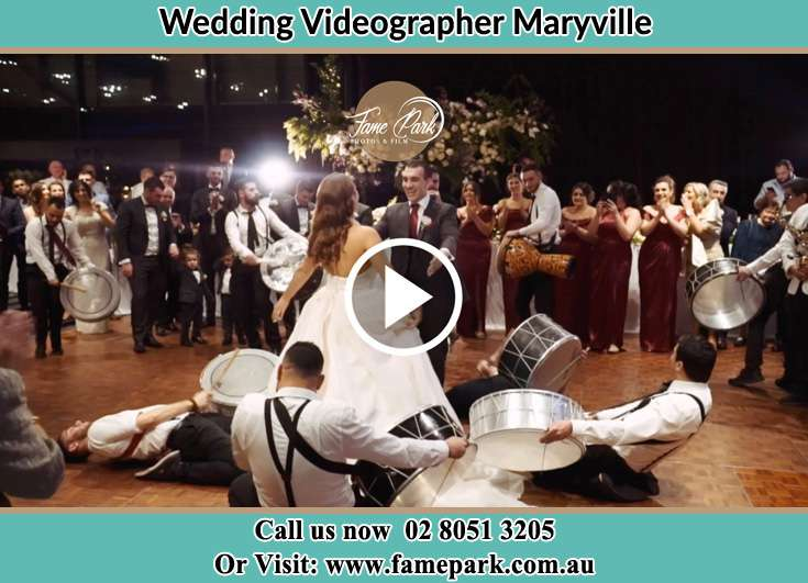 The newlyweds dancing Maryville NSW 2293