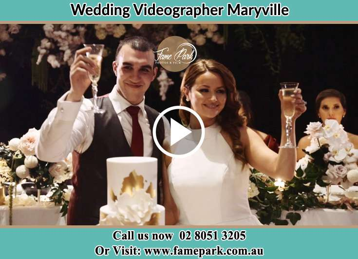 The Groom and the Bride raising a cheer Maryville NSW 2293