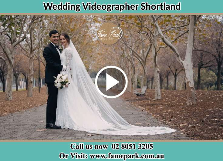 The new couple posed for the camera Shortland NSW 2307