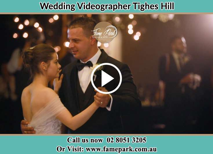 Bride and Groom dancing Tighes Hill NSW 2297