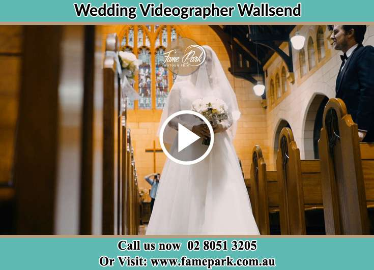 The Bride walking the aisle Wallsend NSW 2287