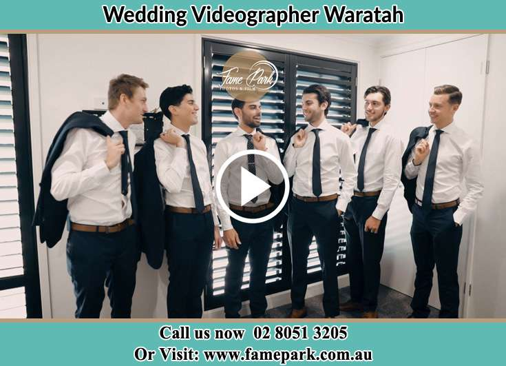 Groom and his secondary sponsors Waratah NSW 2298