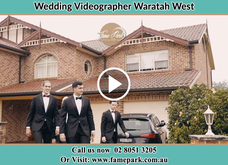 Groom and his secondary sponsors Waratah West NSW 2298